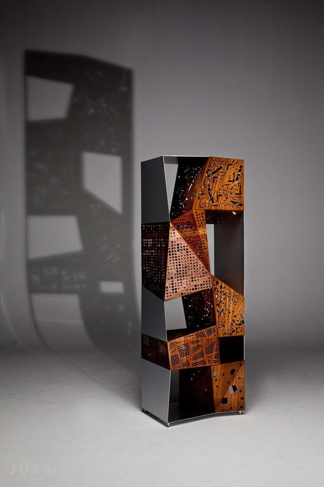 Mobel Aus Holz Origami Kunst Inspirierte Kollektion
