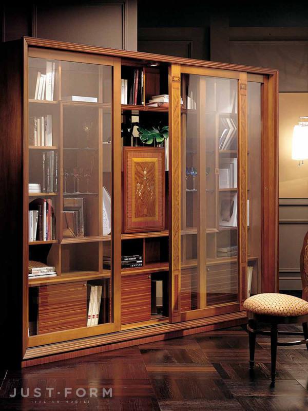 Книжный шкаф le cornici. фабрика carpanelli. прямая поставка.