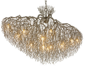 Люстра Hollywood Chandelier Conical Oval
